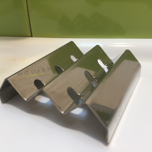 NZ Made Stainless Steel Soap Dish