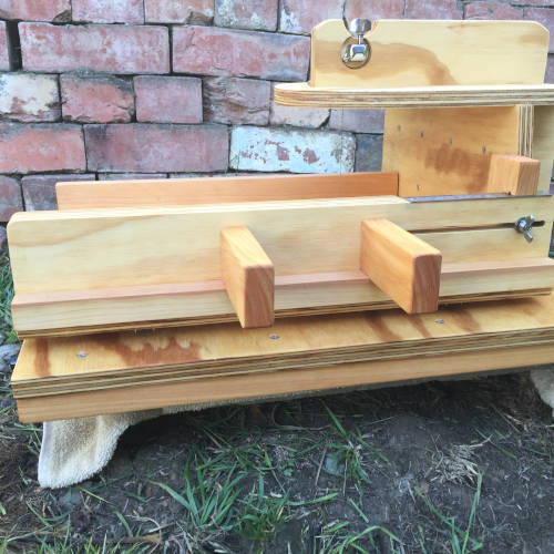 wide slab cutter front