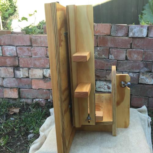 wide slab soap cutter vertical storing
