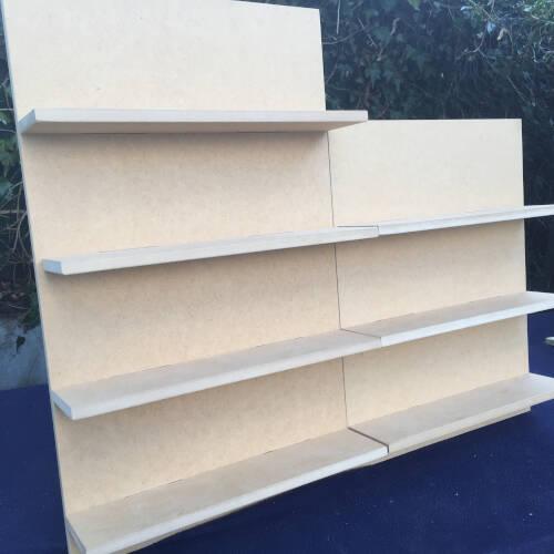modular display shelves
