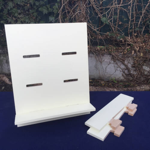 modular display shelves painted parts2